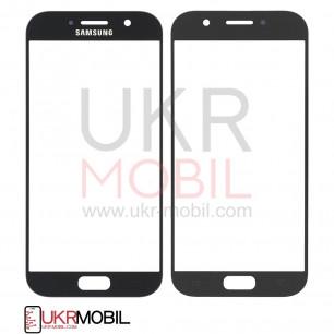 Стекло дисплея Samsung A520 Galaxy A5 2017, Original, Black