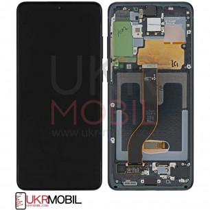 Дисплей Samsung G985 Galaxy S20 Plus, с тачскрином, рамкой, Original PRC, Black