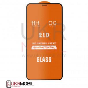 Защитное стекло Apple iPhone 11 Pro Max, Full Glue 2.5D, Black