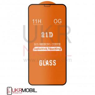 Защитное стекло Apple iPhone 11 Pro, Full Glue 2.5D, Black