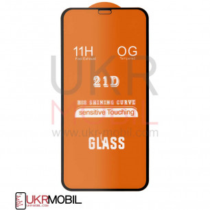 Защитное стекло Apple iPhone 11, Full Glue 2.5D, Black