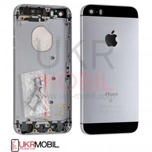 Корпус Apple iPhone 5SE, Original PRC, Space Gray