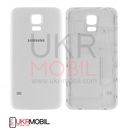 Корпус HIGH COPY Samsung G900 Galaxy S5 White (задняя крышка) - ukr-mobil.com