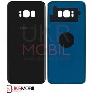 Задняя крышка Samsung G955 Galaxy S8 Plus, High Copy, Midnight Black