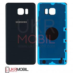 Корпус Samsung N920 Galaxy Note 5 задняя крышка (high copy) Black