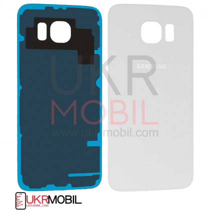 Задняя крышка Samsung G920 Galaxy S6, Original PRC, White - ukr-mobil.com