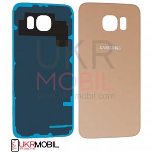 Задняя крышка Samsung G920 Galaxy S6, Original PRC, Gold