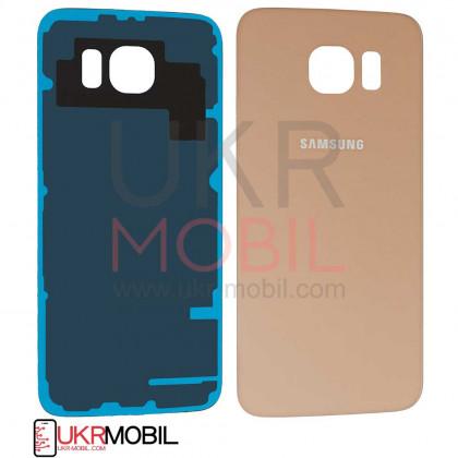 Задняя крышка Samsung G920 Galaxy S6, Original PRC, Gold - ukr-mobil.com