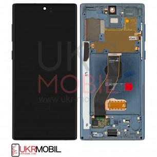 Дисплей Samsung N970 Galaxy Note 10, с тачскрином, рамкой, Original, Black