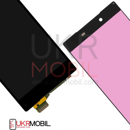 Дисплей Sony E6833 Xperia Z5 Premium Dual, E6853 Xperia Z5 Premium, E6883 Xperia Z5 Premium Dual, с тачскрином, Black, фото № 2 - ukr-mobil.com