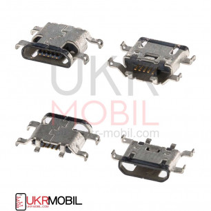Коннектор зарядки Motorola XT1650 Moto X, XT1635-02 Moto Z Play,