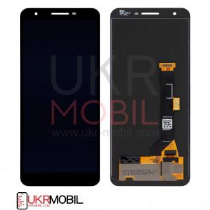 Дисплей Google Pixel 3A, с тачскрином, OLED, Black