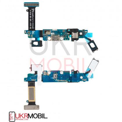 Шлейф Samsung G920 Galaxy S6, с разъемом зарядки, гарнитуры, Original PRC, фото № 1 - ukr-mobil.com