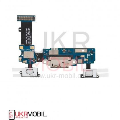 Шлейф Samsung G900F Galaxy S5, с разъемом зарядки, микрофоном, Original PRC, фото № 2 - ukr-mobil.com