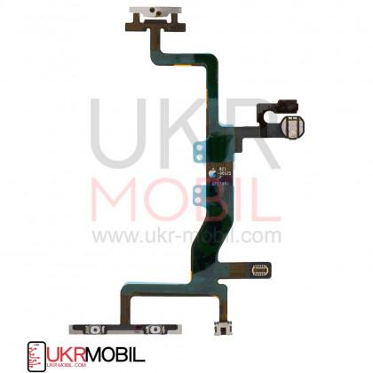 Шлейф Apple iPhone 6S, с кнопкой включения и регулировки громкости, Original PRC, фото № 2 - ukr-mobil.com