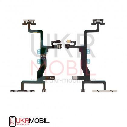 Шлейф Apple iPhone 6S, с кнопкой включения и регулировки громкости, Original PRC, фото № 1 - ukr-mobil.com