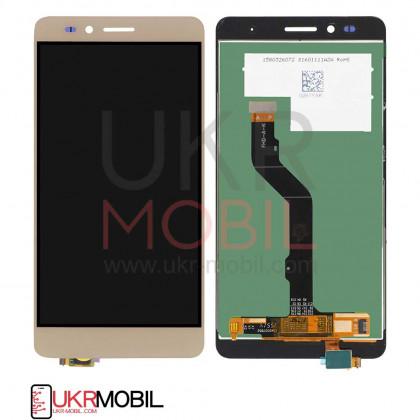 Дисплей Huawei GR5 2016 (KIW-L21), Honor 5X, с тачскрином, Gold - ukr-mobil.com