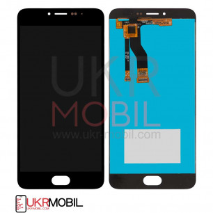 Дисплей Meizu M3 Note M681h, с тачскрином, High Copy, Black
