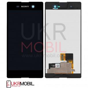 Дисплей Sony E5603 Xperia M5, E5606 Xperia M5, E5633 Xperia M5, E5653 Xperia M5, E5663 Xperia M5 Dual, с тачскрином, Black