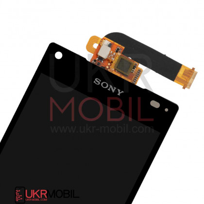Дисплей Sony E5803 Xperia Z5 Mini, E5823 Xperia Z5 Compact, с тачскрином, Original PRC, Black, фото № 2 - ukr-mobil.com