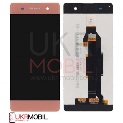 Дисплей Sony F3111 Xperia XA, F3112 Xperia XA Dual, F3113 Xperia XA, F3115 Xperia XA, F3116 Xperia XA Dual, с тачскрином, Pink - ukr-mobil.com