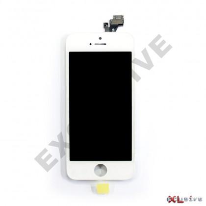 Дисплей Apple iPhone 5, с тачскрином, High Copy, White, фото № 1 - ukr-mobil.com