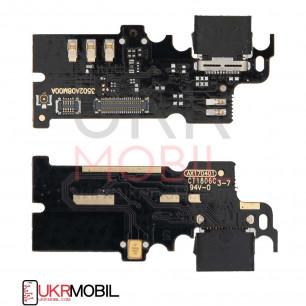 Шлейф Xiaomi Mi Mix, нижняя плата с разъемом зарядки, микрофоном