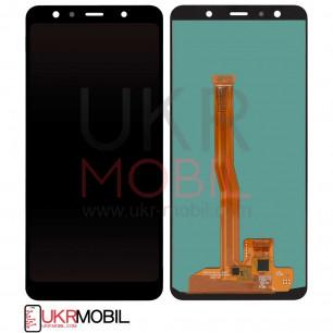 Дисплей Samsung A750 Galaxy A7 2018, с тачскрином, OLED, Black