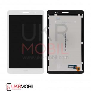 Дисплей Huawei MediaPad T3 8.0 (KOB-L09, KOB-W09), с тачскрином, Original PRC, White