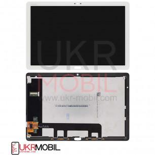 Дисплей Huawei MediaPad M5 Lite 10 (BAH2-L09, BAH2-W19), с тачскрином, Original PRC, White