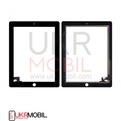Сенсор (тачскрин) Apple iPad 2 (A1395, A1396, A1397), High Copy, Black, фото № 1 - ukr-mobil.com