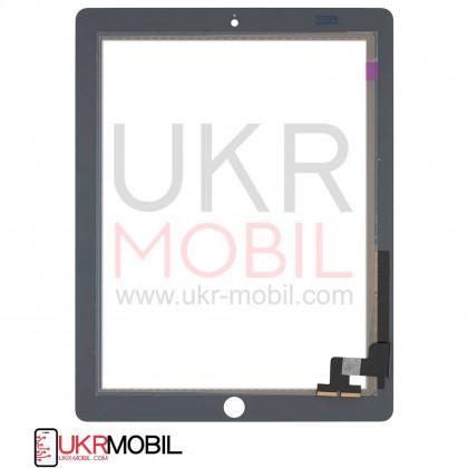 Сенсор (тачскрин) Apple iPad 2 (A1395, A1396, A1397), High Copy, White, фото № 2 - ukr-mobil.com