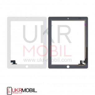 Сенсор (тачскрин) Apple iPad 2 (A1395, A1396, A1397), High Copy, White