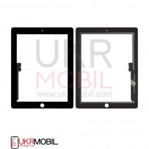 Сенсор (тачскрин) Apple iPad 3 (A1416, A1430), iPad 4 (A1458, A1459), High Copy, Black