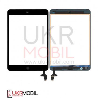 Сенсор (тачскрин) Apple iPad mini, (A1432, A1454, A1455), iPad Mini 2 Retina (A1489, A1490, A1491), с кнопкой Home, Original PRC, Black, фото № 1 - ukr-mobil.com