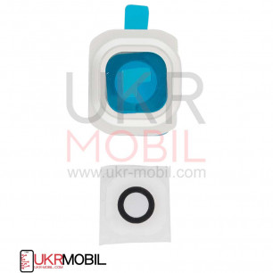 Стекло камеры Samsung G920 Galaxy S6, White