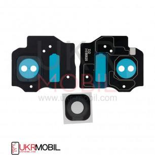 Стекло камеры Samsung G955 Galaxy S8 Plus, Black