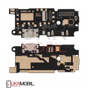 Шлейф Xiaomi Redmi Note 4, нижняя плата с разъемом зарядки, микрофоном