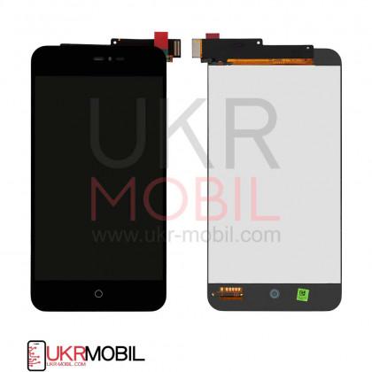 Дисплей Meizu MX2 M040 с тачскрином, Black - ukr-mobil.com