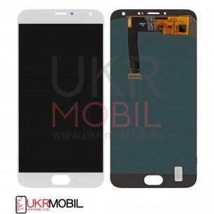 Дисплей Meizu MX5 M575, MX5e, MX5e Lite, с тачскрином, White