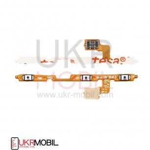 Шлейф Samsung A105 Galaxy A10, M105 Galaxy M10, M205, M305, с кнопкой включения, регулировки громкости, Original PRC