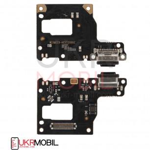 Шлейф Xiaomi Mi 9 Lite, нижняя плата с разъемом зарядки, микрофоном, Original PRC