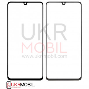 Стекло дисплея Samsung A415 Galaxy A41, Original, Black