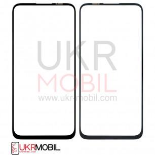 Стекло дисплея Huawei P40 Lite (JNY-LX1), Nova 5i (GLK-LX1), Nova 7i (JNY-LX2), Nova 6 SE, без контура камеры, Original, Black