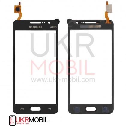 Сенсор (тачскрин) Samsung G530 Galaxy Grand Prime Original Black - ukr-mobil.com