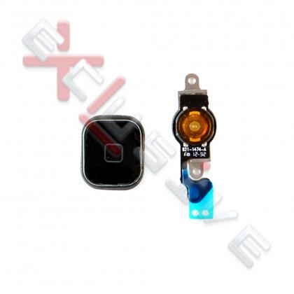 Шлейф Apple iPhone 5, кнопка Home, Black - ukr-mobil.com