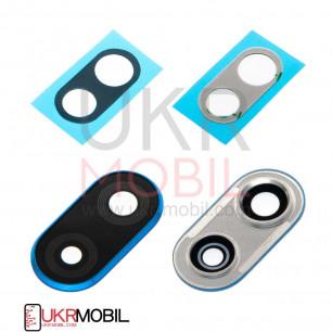 Стекло камеры Huawei P Smart Plus (INE-LX1, INE-LX2), Nova 3i, с рамкой, Blue