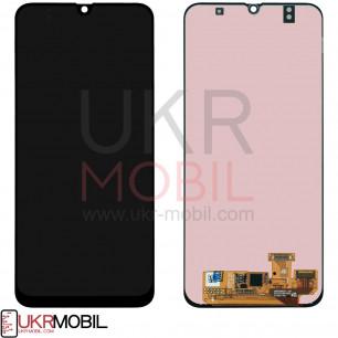 Дисплей Samsung A305 Galaxy A30 2019, с тачскрином, Original PRC, Black