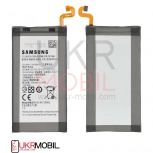 Аккумулятор Samsung A730 Galaxy A8 Plus, EB-BA730ABE, (3500 mAh)