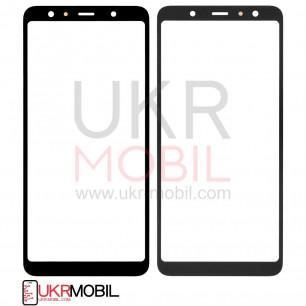 Стекло дисплея Samsung A750 Galaxy A7 2018, Black